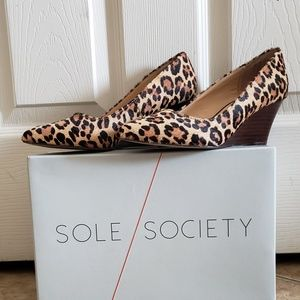 "Sole Society ""Juli"" wedges"